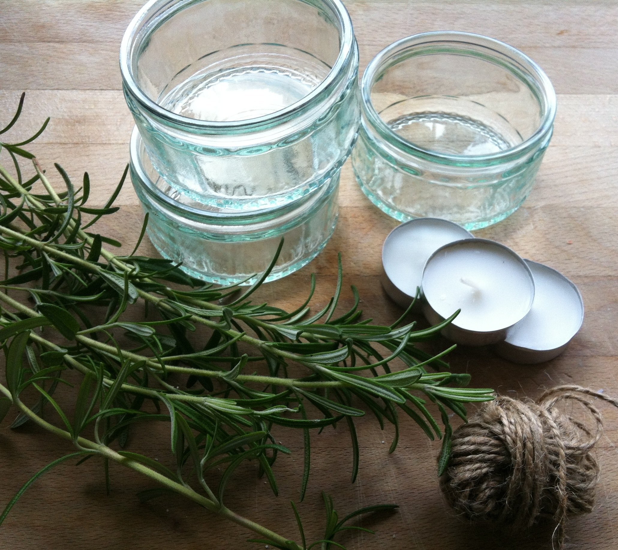 rosemary candles | Lifestyle, Craft, Music and DIY