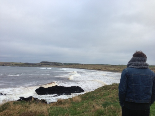 Portballintrae beach with my boy