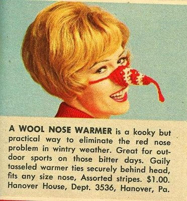 Nose-warmer